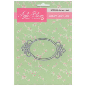 Apple Blossom Craft Die DIOB0166 Ornate Label