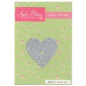 Apple Blossom Craft Die DIOB0136 Detailed Heart