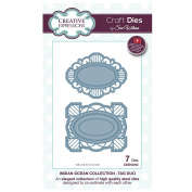 Craft Die CED10013 Sue Wilson Indian Ocean Collection - Tag Duo