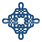 Tattered Lace Inverse Flourish Square 2 Willow Cutting Die Set ETL193