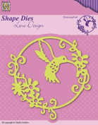 Nellie's Choice Shape Hummingbird Cutting Die Designed by Lene