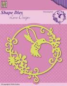 Nellie's Choice Shape Hummingbird Cutting Die Designed by Lene