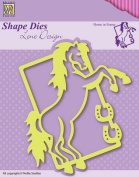 Shape Die Lene Design Horse In Frame