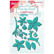 Joy! Crafts Dies One of a Kind Christmas 6002-0584 Metal Cutting Dies