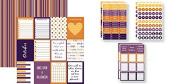 October Calendar Plan-It 12x12 Planner Paper & Stickers Set