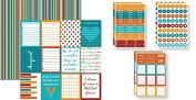 August Calendar Plan-It 12x12 Planner Paper & Stickers Set