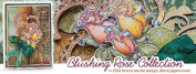 Heartfelt Creations Blushing Rose Collection with Paper Pad, 4 Stamp Sets + 2 matching Dies
