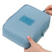 Cocoly Portable Travel Toiletry organiser Cosmetic Makeup Bag for Women Makeup or Men Shaving Kit