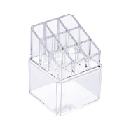 2015 New Acrylic Makeup Train Cases Jewellery and Cosmetic Storage Display Boxes with Grid for Christmas Gift (Shipping From US)