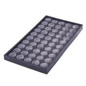50Pcs Empty Clear Box Cases Glitter Dust Powder Jewellery Display Nail Art by Bangood