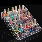 1pc with 6 layer Colour Transparent Graceful Display Stand Holder Beauty Makeup Nail Polish Rack