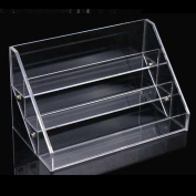 1pc with 3 layer Colour Transparent Agile Acrylic Storage Display Stand Organiser Nail Polish Rack