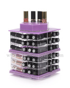 Zahra Beauty Spinning Lipstick Tower- Lilly- The Best Lipstick Holder -Holds 81 Lipsticks