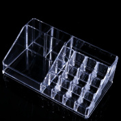 Anleolife Acrylic Clear Makeup Organiser / Multipurpose Storage Box For Jewelries Nail Polish Kits Lipstick All Beauty Product Acrylic Display Box