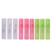MUB 9Pcs 2 ml Glass Perfume Small Travel Bottles Refillable Perfume Spray Container