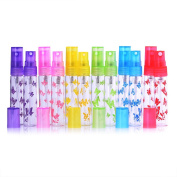 MUB 5 ml Small Bottles of Perfume Travel Perfume Atomizer Bottle Butterfly print Bottle Spray set of 12