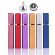 MUB Glass Perfume Bottles ,12ml Travel Atomizer Spray Refillable Empty Perfume to go Fragrance Pocket Glass Bottle