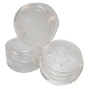 Clear Sifter Loose Powder Jar