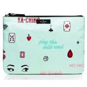 Kate Spade Gia Cosmetic Bag Daycation Play the Wild Card