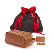 The Gentleman Gift Set - Full Grain Leather - Cognac