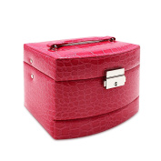 Mermaid Fashion Cosmetic Box Makeup Bag Toiletry Case Organiser Hanging Pouch with Separate Compartments
