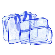 Travel Cosmetic Bag, HP95(TM) Travel Must-Transparent Materproof Pouch Cosmetic Wash Bath Supplies