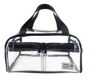 Rough Enough TSA Clear Transparent Fashion Comestic Handbag