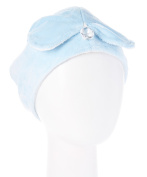 Wrapadoo Hair Towel, Baby Blue