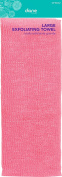 Fromm Diane Beauty Large Exfoliating Towel Pink 30cm by 90cm