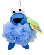 Evriholder Sesame Street Poufy Pals Mesh Sponge, Cookie Monster 3-pack