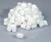 Medline Industries MDS21462 Cotton Balls, Nonsterile, Large, 1000/BG, White