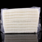 Silvercell 100Pcs Natural Daily Facial Cut Cotton Pad White No Colouring Puff