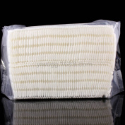 Silvercell 100Pcs Natural Daily Facial Cut Cotton Pad White No Colouring Puff