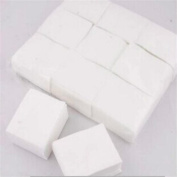 900pcs Great Nail Polish Remover Cotton Lint Cleaner Pad Manicure Colour White