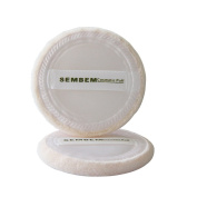 Sembem 2pcs Cotton Makeup Cosmetic Tool Loose Foundation Powder Puff Pads