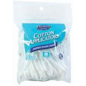 Premier Value Cosmetic Cotton Applicators - 80 ct