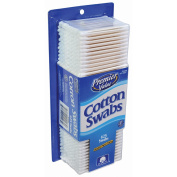 Premier Value Cotton Swabs Paper White - 625ct