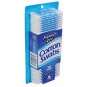 Premier Value Cotton Swabs Plastic Colours - 300ct