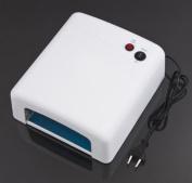 RioRand® Professional 36W 220V UV Nail Art Gel Curing Polish Light Dryer+4 Tube Lamp