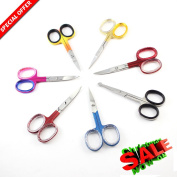 Hot Deal OFFER Heavy Duty 7 in One Professional Nail Scissors - Durable Stainless Steel Straight/Curved Manicure Scissors/Shears - Baby Nail Scissors