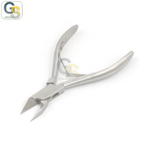 G.S NAIL CUTTER/NIPPER/TRIMMER MANICURE/PEDICURE STRAIGHT TIP STEEL PODIATRY 14cm