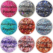 SHEBA NAILS Gelcrylic Powder Country Charm Sampler Kit