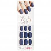 Matte Gel Royal Blue Nail Kit