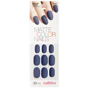Matte Gel Royal Blue Nail Kit
