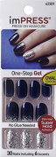 "KISS imPRESS Oval Nails ""SHAKE IT UP"" by Broadway Press-On Manicure Nails"