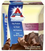 Atkins Dark Chocolate Royale Shake 4/11 fl oz (325 ml) Liquid