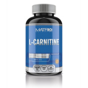 Matrix Nutrition L-Carnitine x 120 - Fat Burner Weight Loss - Amino Acid - 2 Tablets 500mg Serving by Matrix Nutrition