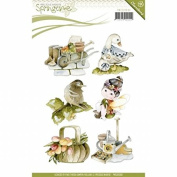Find It Trading PMC10009 Precious Marieke Clear Stamp Springtime