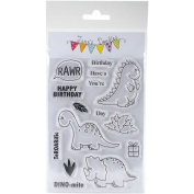 CLEAR STAMPS 4X6-DINOMITE
