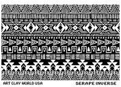 Flexistamps Texture Sheets Serape Inverse Design - 1 Pc.